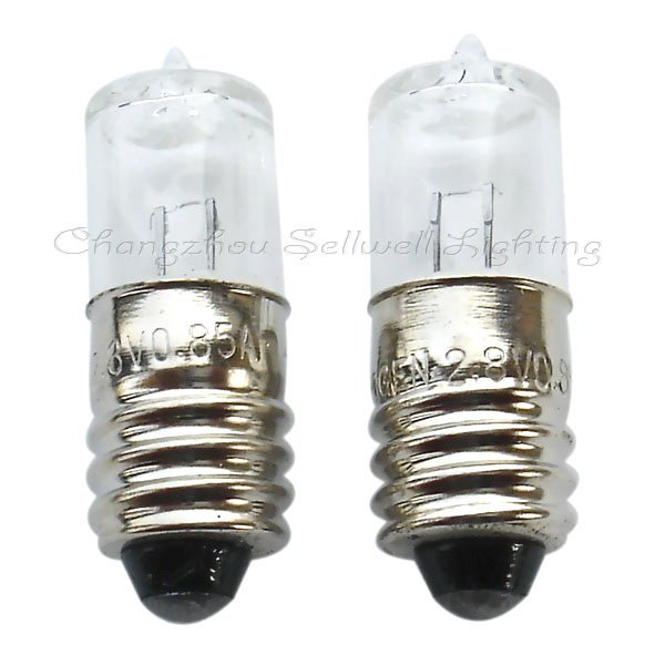 Great!halogen Bulbs Lighting 2.8v 0.85a E10 A008