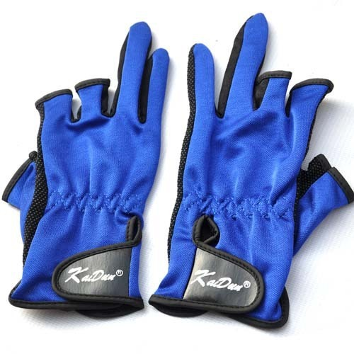 Fishing gloves, 3 fingers exposed, breathable,anti-slippery,free shipping