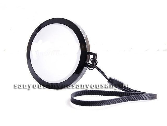 52/55/58/62/67/72/77mm White Balance Lens Cap with WB Filter Mount for Canon Nikon Sony Pentax Digital Camera Filter/Lens