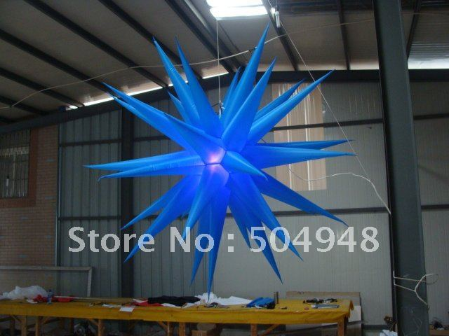 inflatable lighting star for party decoration