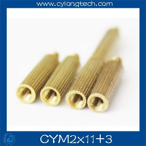 Free shipping M2*11+3mm  cctv camera isolation column 100pcs/lot Monitoring Copper Cylinder Round Screw