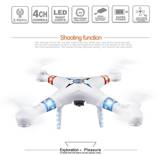 wifi fpv RC drone 396W quadcopter 2.4G 4CH 6axis remote control quadcopter with camera rc helicopter model rc toy for best gift