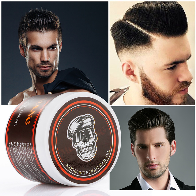120g Professional Hair Wax Pomade Hair Pomade Styling Wax Skeleton Cream Slicked Oil Mud Hair Wax Men Cream Hair Styling Gel Buy Inexpensively In The Online Store With Delivery Price Comparison