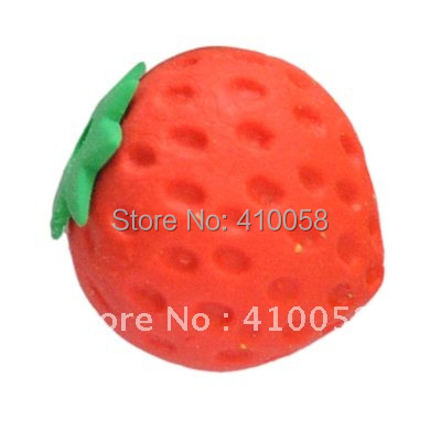 Freeshipping wholesale/retail discount fruit and food eraser for children school stationery, eraser/ children gift