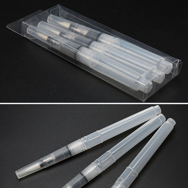 Three Outfit Writing Brush Waterbrush Supplies Stationery Painting Durable Creative