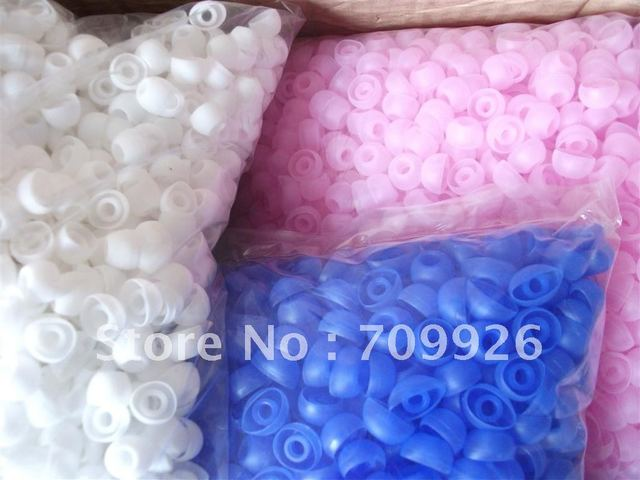 Linhuipad In-ear earbud covers Silicone earbud tips earbud covers bulk packing 1000pcs/lot