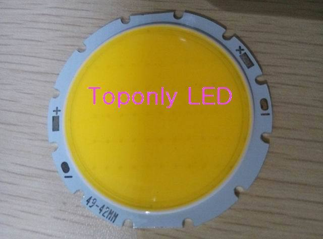 10w cob led lighting source Epileds multi-chips integrated high power led module lamp DC30-34v 300mA 1000lm in white 100pcs/lot