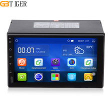 Android 5.1 2 Din Car Radio Stereo 7 inch Touch Screen Car DVD Player With Wifi Bluetooth Steering Wheel Control GPS Navigation