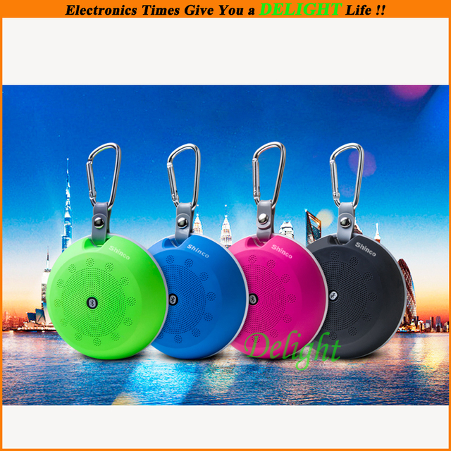Shinco Outdoor Bluetooth Loudspeakers TF Small Speaker Portable Mini Subwoofer Mobile Phone Mp3 Player Audio Speaker (DL-SP07)