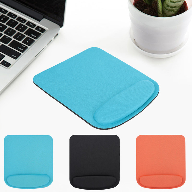 Mouse Pad EVA+PU Mouse Mat Wrist Support Protector Mat 3 Color