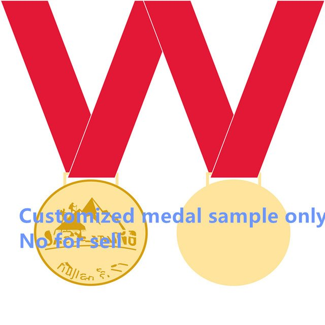 1 pcs Brand new metal craft customized medal badge coin trophy seller contact in advanced