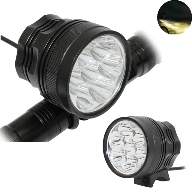 Ultra Fire 7500LM 7x XML T6 LED Bicycle Flashlight Front Bicycle Light DC 3 Modes head Light Bike Lamp Back Tail Light