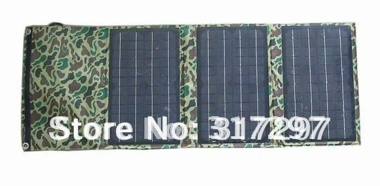 Free Shipping by DHL/UPS! 1pc/lot 30W Folding Solar Panel 18V for Laptop+Free Voltage Controller 5V for iPhone,Blackberry