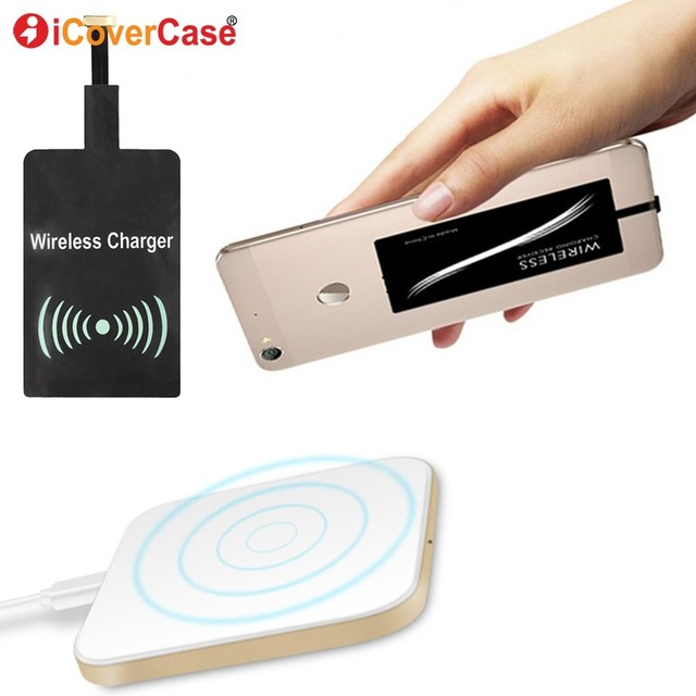 Qi Wireless Charger Pad for Samsung Galaxy A8 A8+ A 8 Plus 2018 Case Mobile Accessories Power Bank QI Wireless Charging Receiver