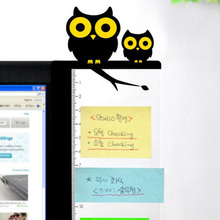 Angel / Owl Computer Monitor Screen Board Holder: Memo paper Sticky