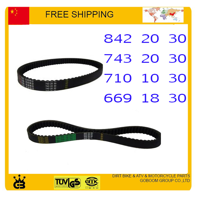 chinese GY6  100cc 125cc 150cc 50cc Scooter Parts Drive Belt  669-18-30 for chinese 139QMA/139QMB Engine