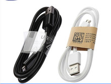 Good Quality 1M Micro USB Data Cable charger adapter for Samsung Galaxy S4 S3 III Note 2 II I9500 I9300 white
