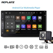 2 Din Car DVD Player 7 inch Universal Android 6.0 Car Multimedia MP4/MP5 Player GPS WiFi Bluetooth 4.0 Steering Wheel Control