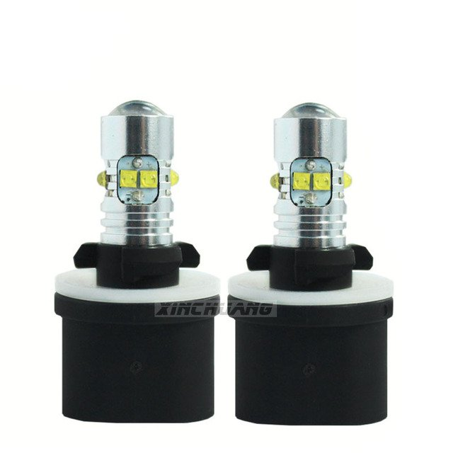 2pcs LED 880 fog lamp 50W headlight 12-24V 10SMD anti fog light Bulb high light 2017 new arrive free shipping