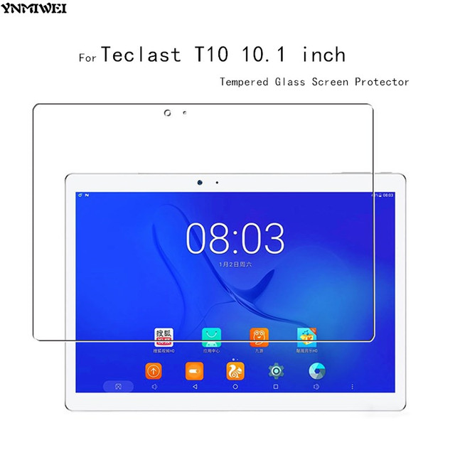 2pcs/lot Glass Protector For Teclast T10 10.1 inch Tempered Screen Protectors T10 Screen Guard Explosion-proof Tempered Glass