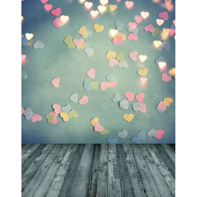 Photography Backdrops Valentine's day Flowers Photo Backdrop Computer printed Children Backgrounds for Photo Studio S-2535