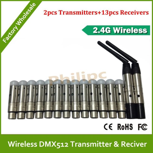 DHL/EMS Free Shipping Lighting Wireless DMX512 transmitter,transmitter and receiver,Signal transmitter receiver