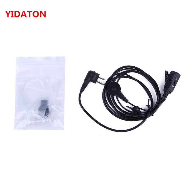 for Motorola Walkie Talkie EP450 Security Surveillance Acoustic Air Tube Earpiece Headset PTT Portable Radio CP180 CP185 CP040