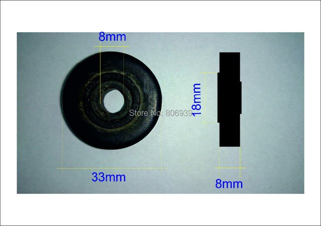 400 PCS rubber rollers for glass machine.