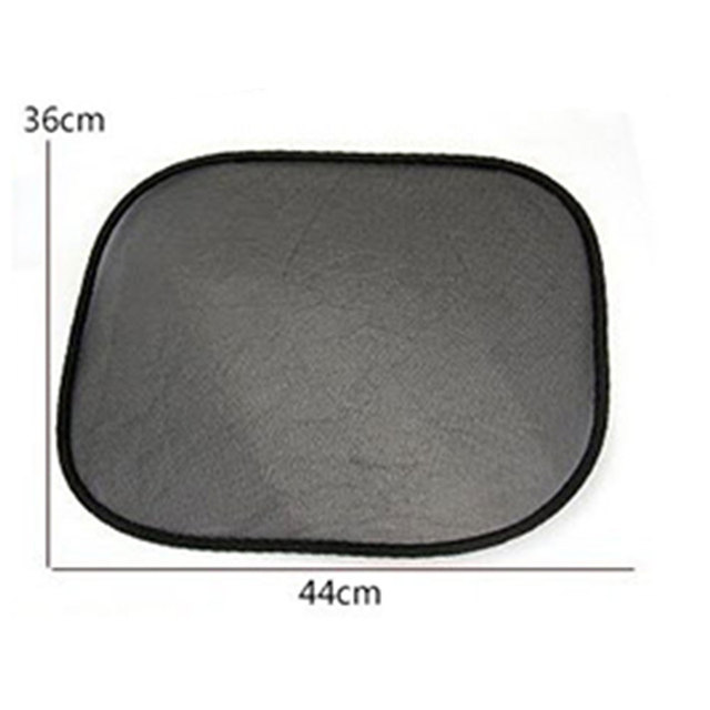Vehemo 2pcs Static Cling Durable Portable Auto Sun Visor UV Protection Car Accessories Windshield Sunshade Car-Styling