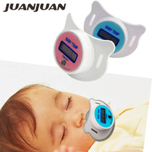 Baby Nipple Thermometer Mouth Digital LCD Display Temp Temperature Measuring Tools Range 32.0-44.0C 20% OFF