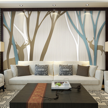 Textile Wallpapers Bedroom TV Background Wall Paper Home Decor 3d wallpaper Living Room photo wall murals