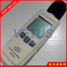 GM1352 Digital sound level meter noise tester 30-130dB in decibels LCD screen With backlight Accuracy up to 1.5dB