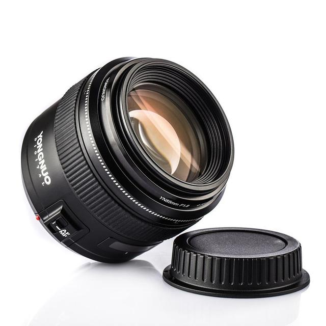 YONGNUO YN85mm F1.8 Lens AF MF Standard & Medium Telephoto Prime Lens fixed focus lens For Canon EF Mount EOS Nikon F mount