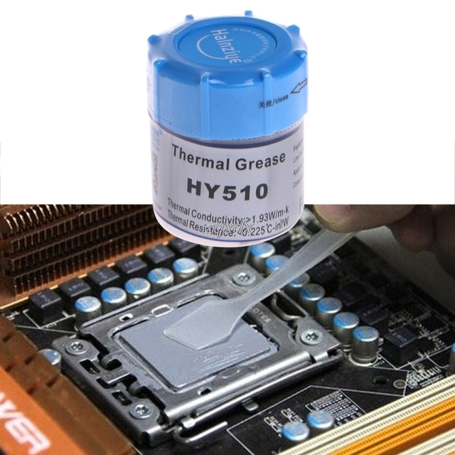 10G HY510 Thermal Grease Compound Silicone CPU Heat Sink Cooling Paste Gray For CPU, VGA,LED Chipset and other PC Components Z09