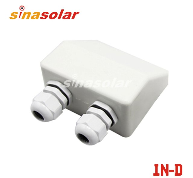Waterproof Solar Cable Entry Plate Double Hole For Caravan Motorhome RV