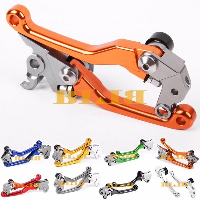 For KTM 300 XC / EXC (SIX DAYS) 2014 2015 2016 2017 CNC Pivot Brake Clutch Levers Motocross Dirtbike Replacement