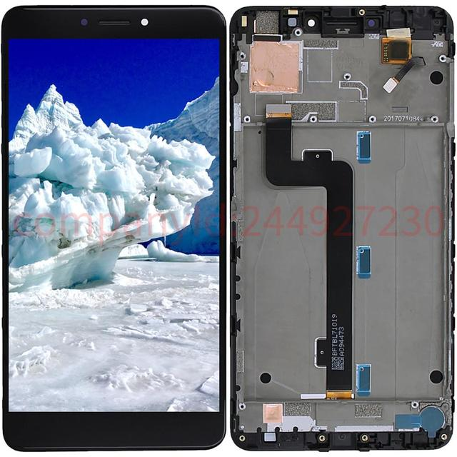 6.44'' 1920x1080 For Xiaomi Mi Max 2 Screen with Frame LCD Display Digitizer Touch Screens Repair Parts
