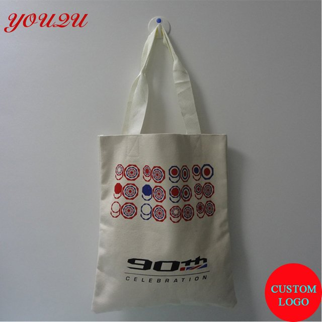 customized promotion bags gifts bags with 100% cotton canvas shopping bag