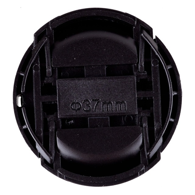 NEW ARRIVAL 37mm Snap-on Front Lens Cap Cover for Camera Sigma Lens