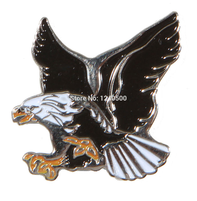Free Shipping Eagle Metal Golf Ball Marker & Magnetic Hat Clip 3pcs/lot