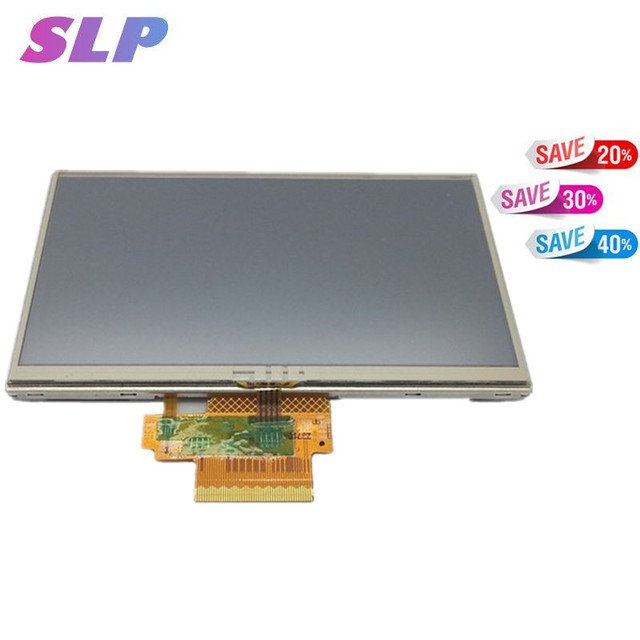 "Skylarpu 5"" inch For TomTom VIA 280 GPS LCD display screen with touch screen digitizer panel free shipping"