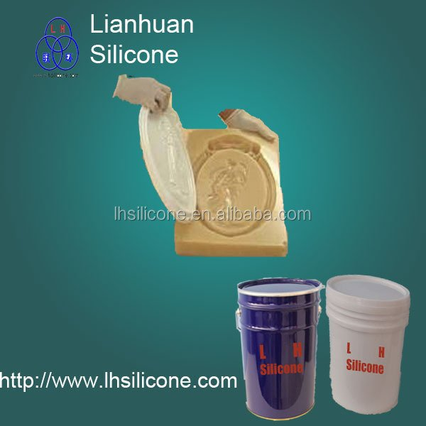 RTV2 silicone rubber for clear epoxy resin making molds