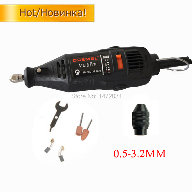 220 V 180 W electric plug ue Dremel Variable Speed Rotary Tool Mini drill accessories and Universal chuck free shipping