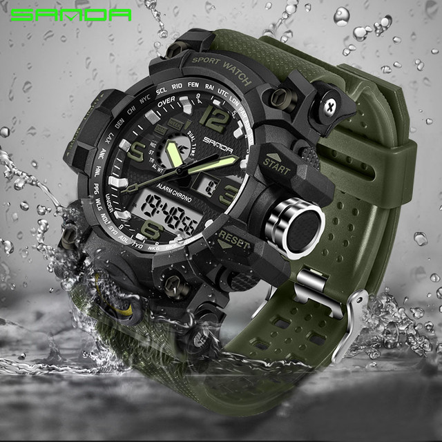 NEW Military Sport Watch Men Top Brand Luxury Famous Electronic LED Digital Wrist Watches For Men Male Clock Relogio Masculino
