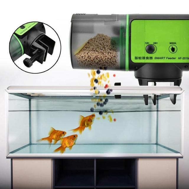 Automatic Fish Feeder Aquarium Fish Food Dispenser High Quality Home Aquarium  Accessories Fish Feeding New - buy inexpensively in the online store with  delivery: price comparison, specifications, photos