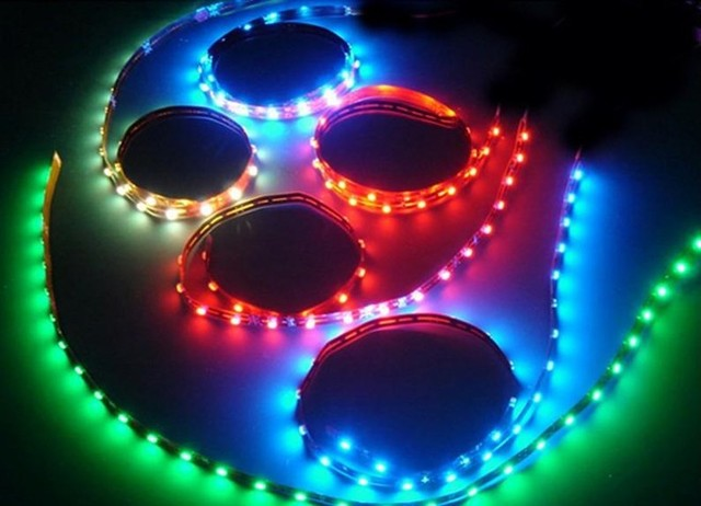 wholesale Waterproof 3528 RGB Led strip Flexible Light 60led/m 5M 300 LED DC 12V Remote Control 5A Power Supply free shipping