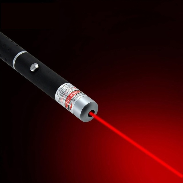 10PCS Red Laser flashlight 450nm Red Laser Pen Positioning Guide Laser Pointer Hunting Lazer Beam one head Without battery