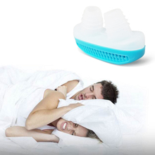 Relieve Snoring Nose Snore Stopping Breathing Apparatus Guard Sleeping Aid Mini Snoring Device Anti Snore Silicone Cpap Mask