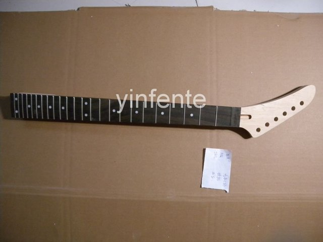 New High Quality Unfinished electric guitar neck Solid wood Body &  fingerboard   model 1pcs #8