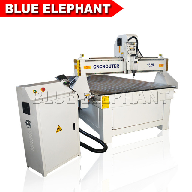 CNC Router 1325 Price cnc cutting machine 3kw water cooling spindle, 3D 1300*2500mm wood cnc router